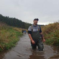Urządzenie tarlisk na rzece Redze Sława 15