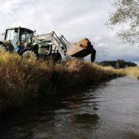 Urządzenie tarlisk na rzece Redze Sława 2